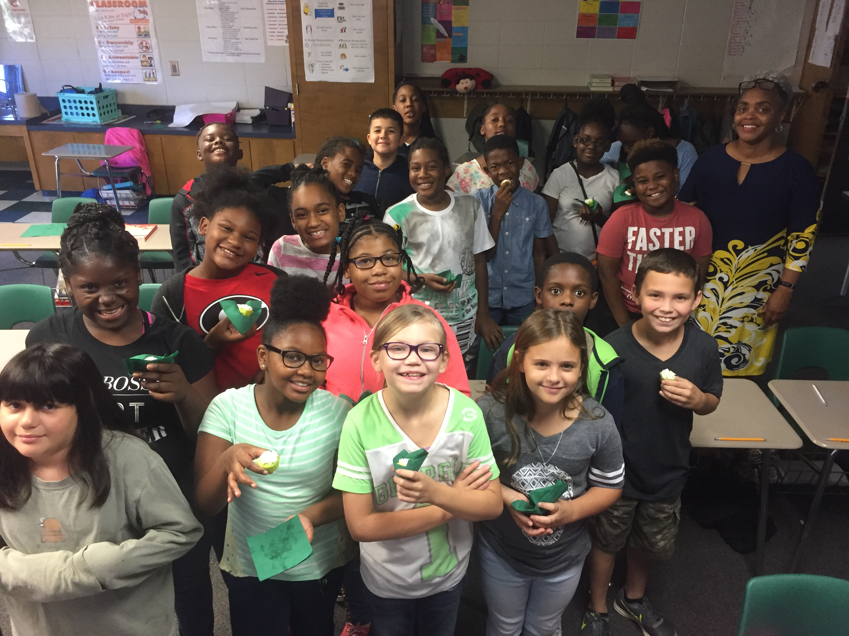 5th Grade Wins 4-H Green Out Day