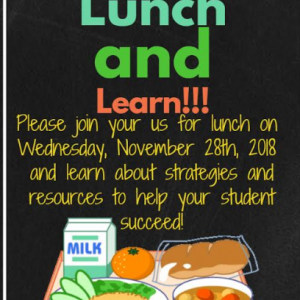 Lunch and Learn