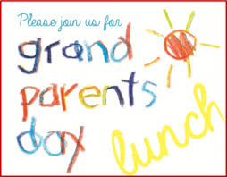 grand parents day lunch